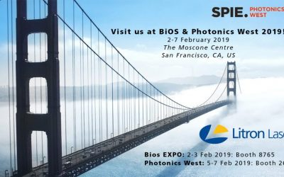 Visit our stand at BiOS & Photonics West 2019!